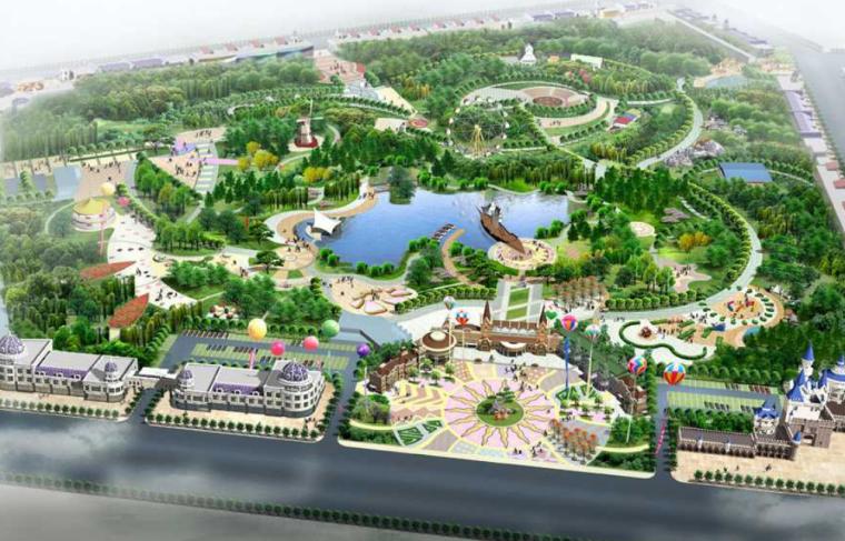 [内蒙古]包头乐园游乐场公园景观规划设计方案文本