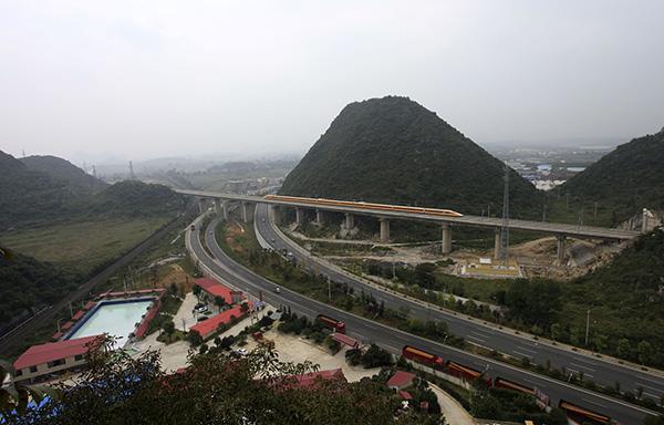 铁总:沪昆高铁贵州段个别隧道存在偷工减料等严重质量问题_1