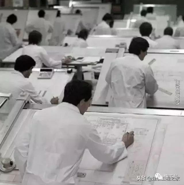 没有CAD的年代,施工图从哪里来?_4