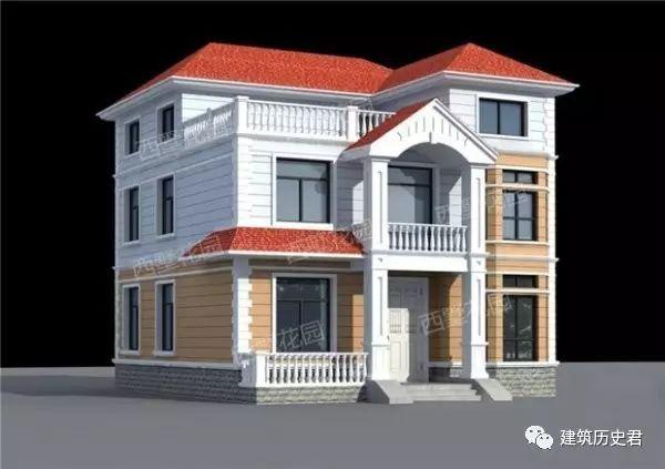 农村自建别墅实例