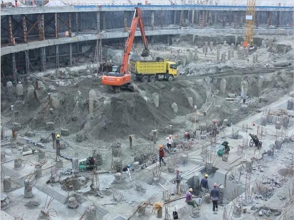 市政工程施工中,较深基坑开挖施工方案!
