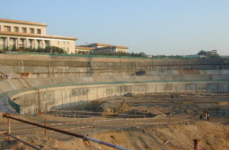 深基坑支护技术及其进展