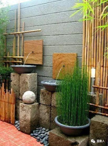 花园景观·石器小景_46