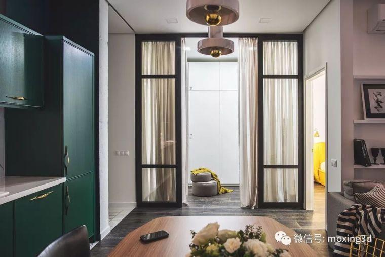 色彩灵动的北欧简约公寓,无可挑剔的美_10