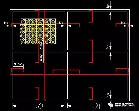板钢筋的计算和对量