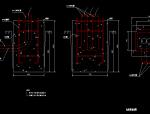 道路工程电控柜基础大样图