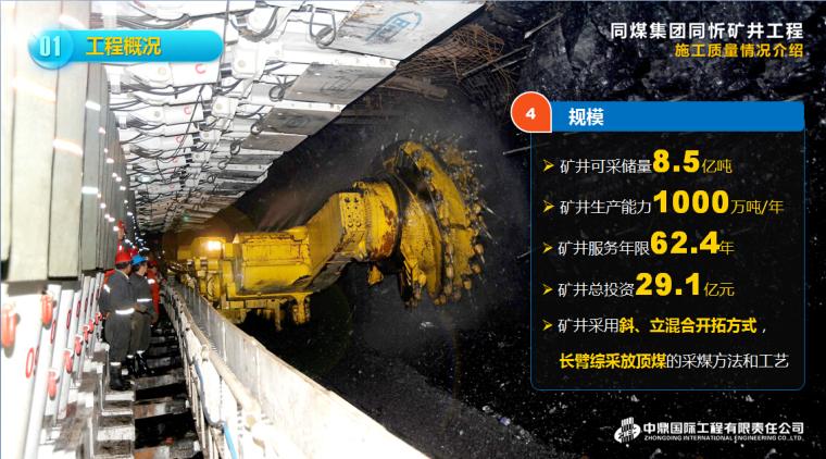 矿井工程施工质量汇报(70余页,附图多,ppt)