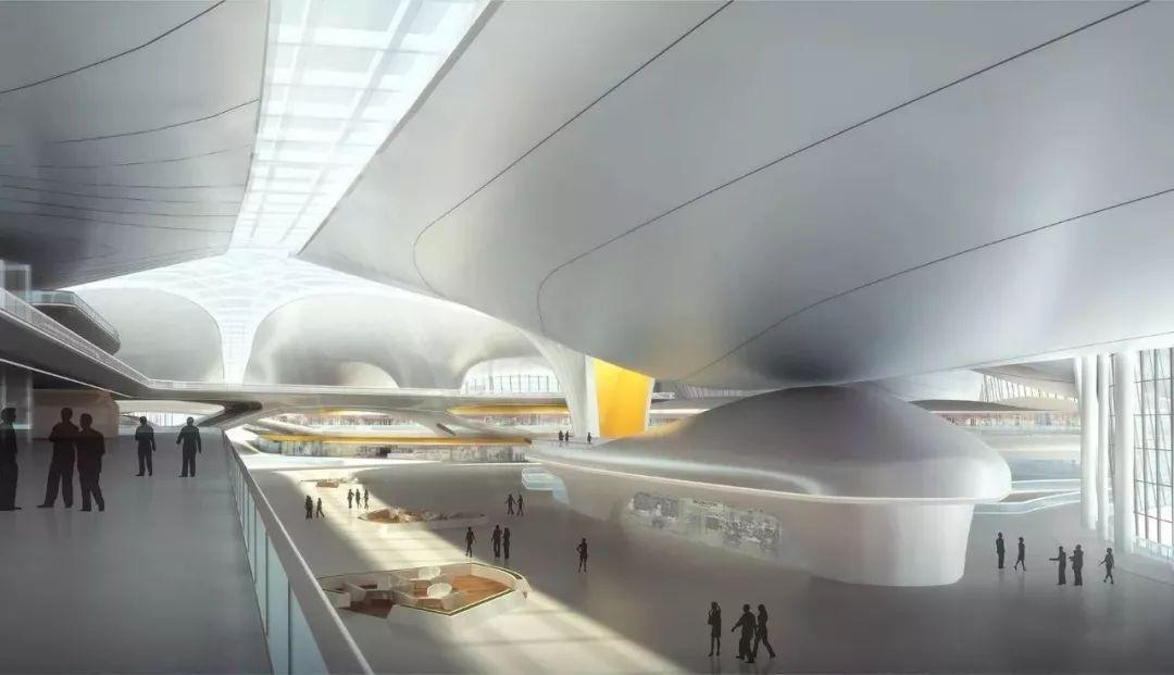 """中国最""""魔幻""""的北京大兴国际机场试飞了!黑科技满满…_33"""