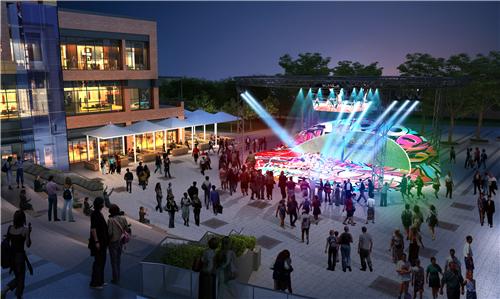 商业街氛围营造|打破空间,打造另类购物体验——梅澜坊商业街之-22