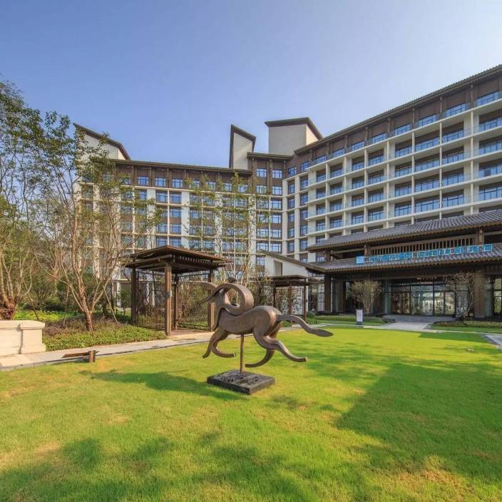合肥万达酒店群景观