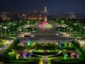 河南鹤壁市新世纪广场及鹤煤大道灯光工程方案设计
