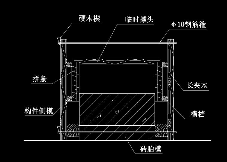 装配式单层工业厂房施工组织设计(含施工图,横道图等)
