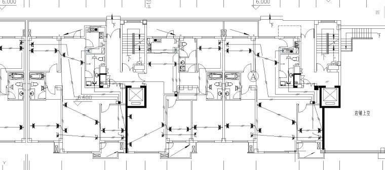 某生活区住宅电气施工图