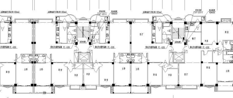 某11F商住楼电气施工图