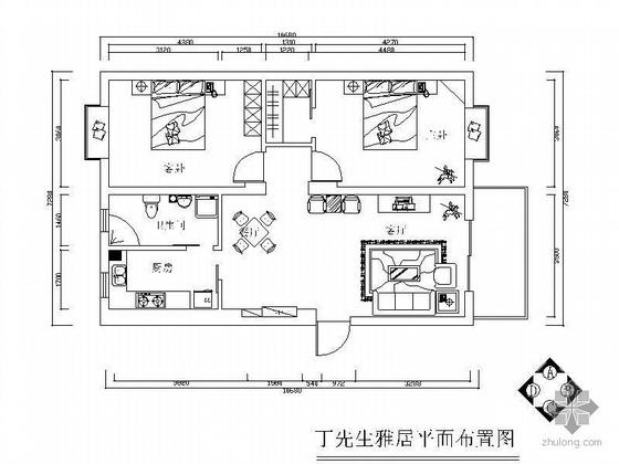两居室设计方案图