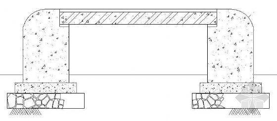 坐凳施工图
