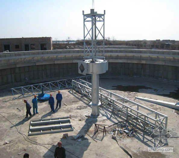 天津某污水处理厂项目迎检汇报