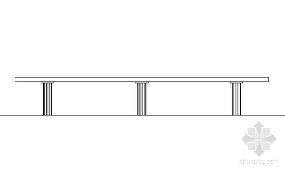 某条形坐凳施工图