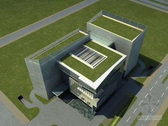 [江西]现代风格多层办公楼建筑设计方案文本