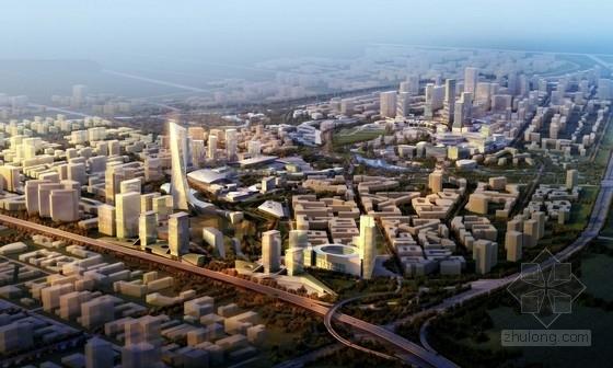 [北京]现代风格城市综合体规划及单体设计方案文本