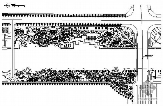 江苏沿河岸环境景观工程施工图全套