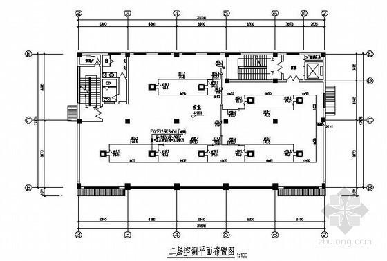 [浙江]某大厦VRV空调及人防通风施工设计图纸