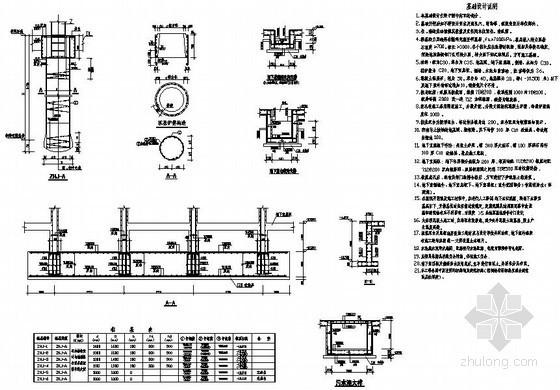 [重庆]18层框剪住宅人工挖孔桩节点详图