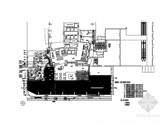 [沈阳]某文化广场售楼处景观工程施工图