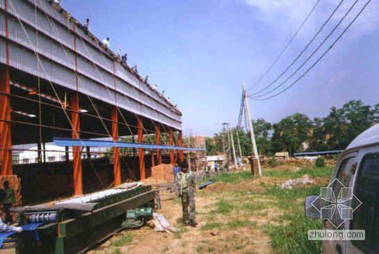唐山某物流园区仓库钢结构施工组织设计(门式刚架)