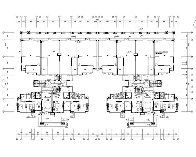 [广东]住宅楼核心筒电气施工图(含防雷装置大样图)