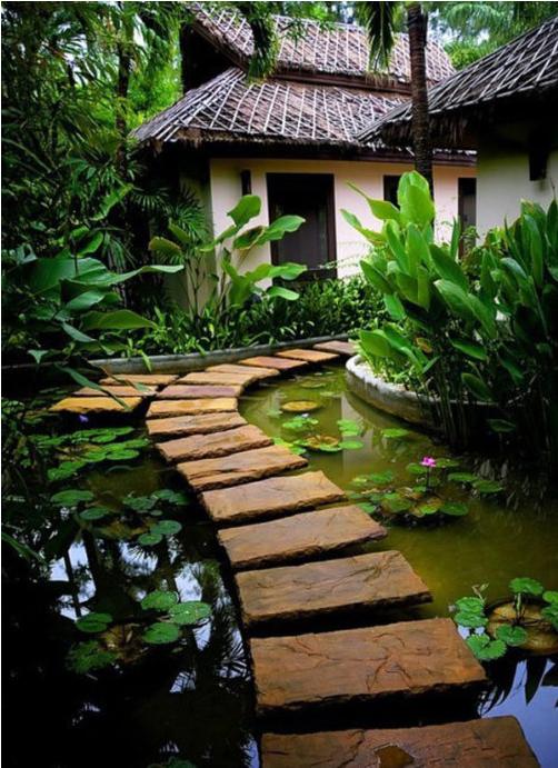 [铺装篇]庭院的格调,也许是因为它的规整!