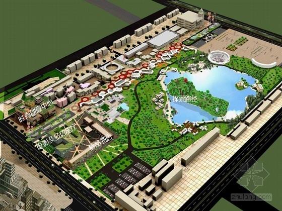 [河北]新市中心中央公园景观改造方案