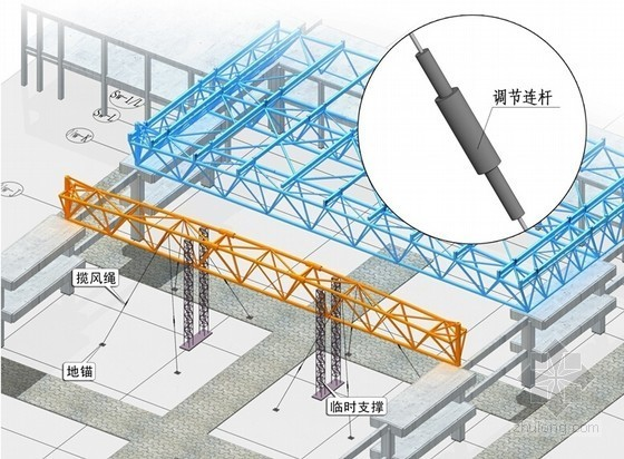 [重庆]国际博览中心项目钢结构工程施工组织设计(A3版式 239页 附图)