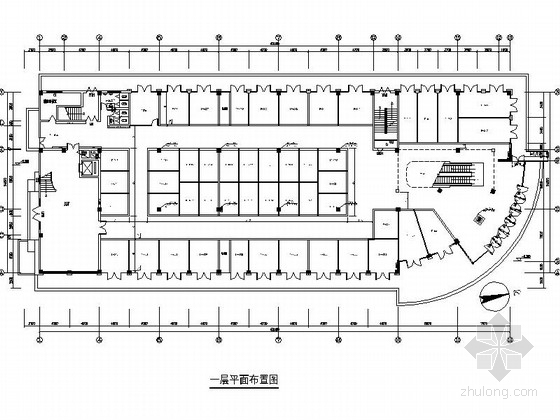 [浙江]某假日酒店卖场及外立面装修施工图(含效果)
