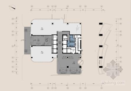 [杭州]知名房地產公司辦公樓各空間設計方案含效果圖