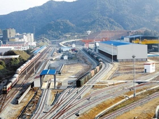 铁路专用线施工组织设计(国家优质工程)