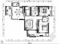 [武汉]136㎡欧式尊贵家装室内施工图(含效果图)