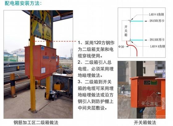 名企编制建筑施工安全管理优秀方案(多图 大量检查表格)