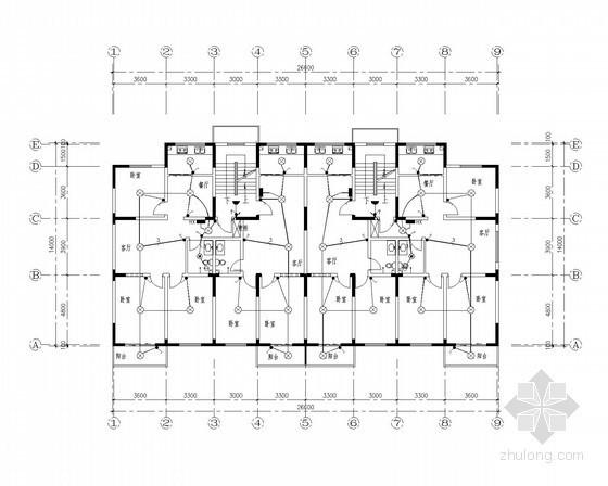 [陕西]住宅楼强弱电全套施工图纸
