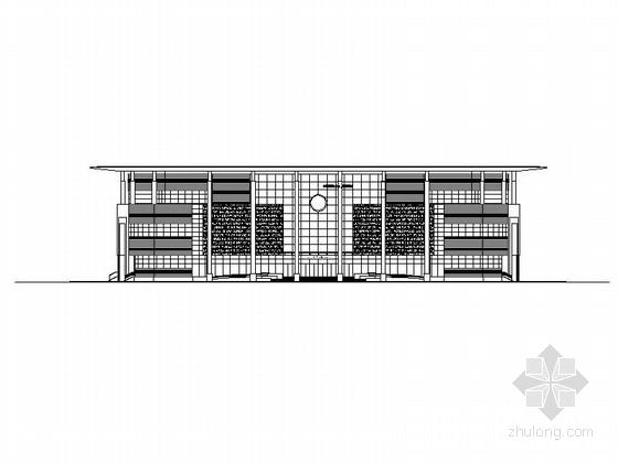 [山西]三层市级圆形平面博物馆建筑施工图(图纸精细 值得参考)