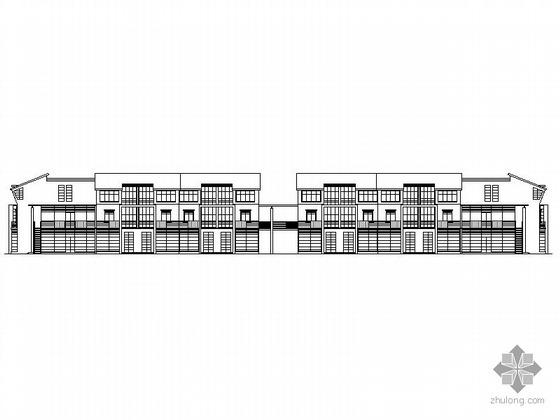 某三层办公楼建筑施工图
