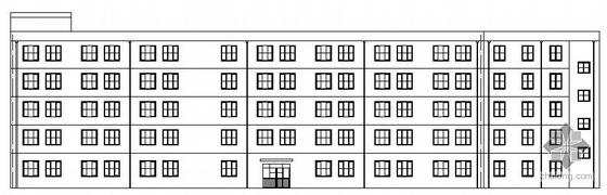 [保定]某五层框架电视机厂房建筑结构设计施工图