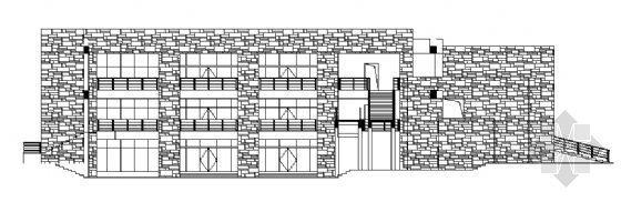 九龙基地服务楼建筑施工图