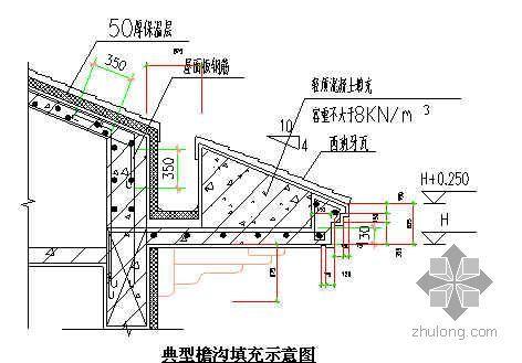广州某屋面工程施工方案(坡屋面 丙烯酸防水涂料 女儿墙做法)