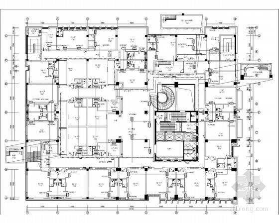 四层空调配电平面图