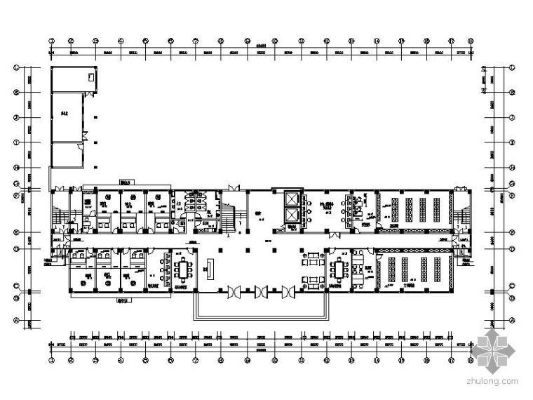 海关缉私局办公大楼装饰工程施工图