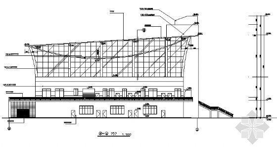 某二层体育馆建筑施工图-2