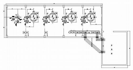 小型水電站施工圖