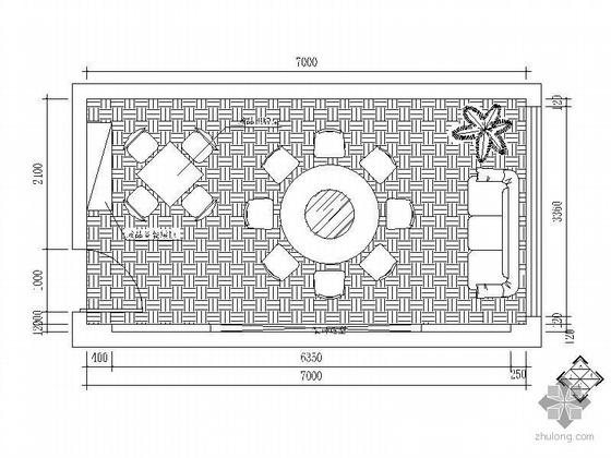 酒店设计图(迎宾厅及包厢)