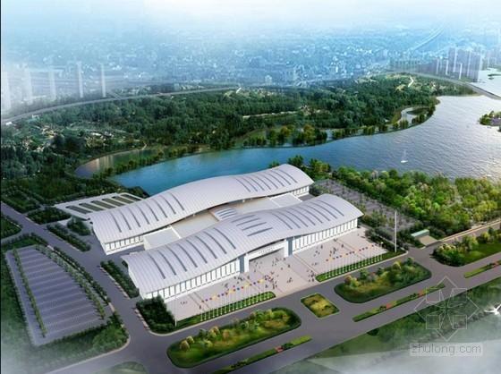 钢结构会展中心工程施工质量创优汇报(鲁班奖 80页)
